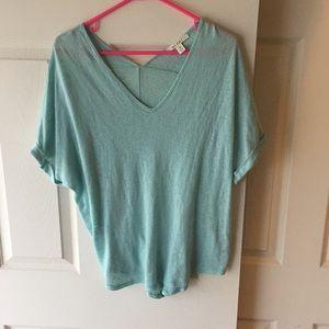 Francesca's Collection Mint Shirt